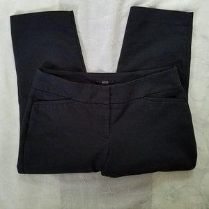 Apt 9 Black Capri Dress Pants Size 10